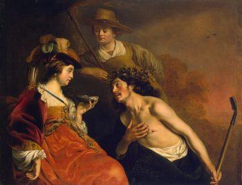 Granida and Daifilo 1635 | Backer-Jacob Adriaensz | oil painting