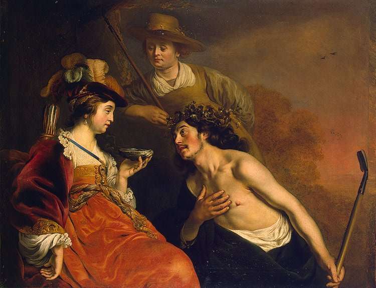 Granida and Daifilo 1635 | Backer-Jacob Adriaensz | oil painting
