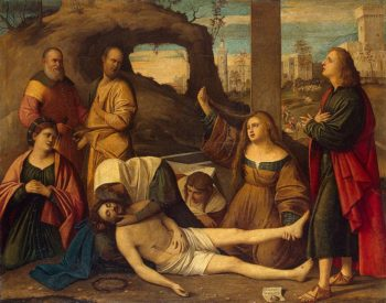 Lamentation 1527 | Basaiti Marco | oil painting
