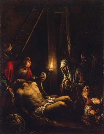 Descent from the Cross 1582-1584 | Bassano Jacopo (Jacopo da Ponte) | oil painting
