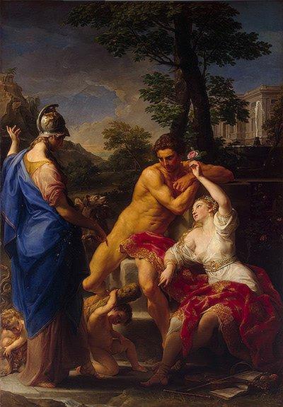 Hercules at the Crossroads 1765 | Batoni Pompeo | oil painting