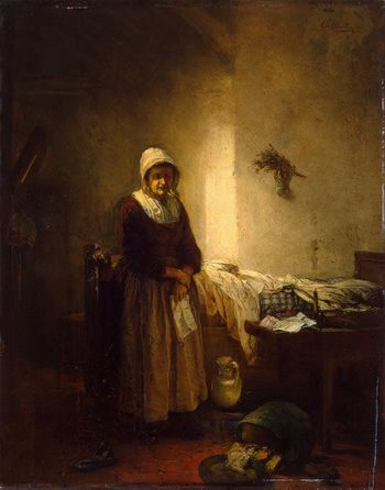 One Illusion less 1849 | Block Eugene Francois de | oil painting