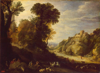 Mountain Landscape 1626 | Brill Paul | oil painting