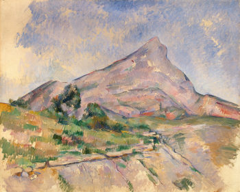 Mont Sainte-Victoire 1897or1898 | Cezanne Paul | oil painting