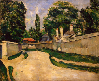 Houses Along a Road 1881 | Cezanne Paul | oil painting