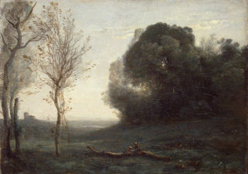 Morning Late 1850s - early 1860s | Corot Jean-Baptiste Camille | oil painting