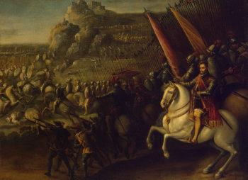 Battle 1643 | Corte Juan de la | oil painting