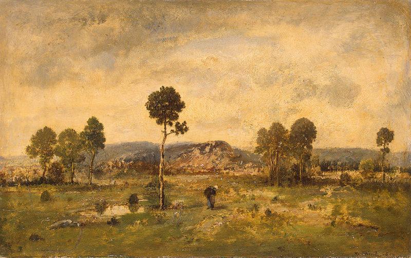 Landscape with a Pine-tree 1864 | Diaz de la Pena Narcisse | oil painting