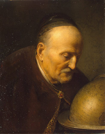 Astronomer 1628 | Dou Gerard | oil painting