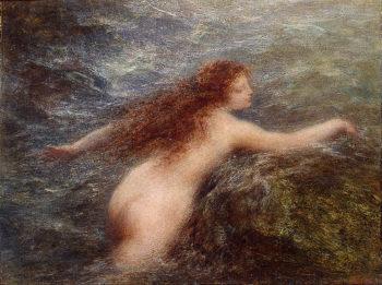 Naiad 1896 | Fantin-Latour Henri | oil painting
