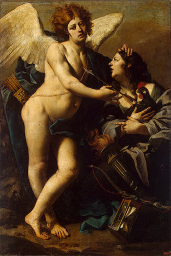 Allegory of Jealousy 1640s | Ferrari Luca (Luca da Reggio) | oil painting