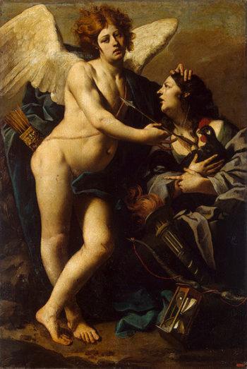 Allegory of Jealousy 1640s | Ferrari Luca (Luca da Reggio) | oil painting