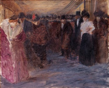 Music-Hall 1895-1896 | Forain Jean Louis | oil painting