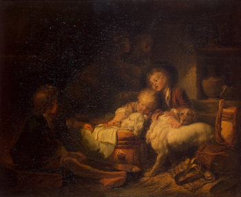 Farmers Children Early 1760s | Fragonard Jean-Honore | oil painting