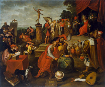 Allegory of Chance 1627 | Francken Frans II | oil painting