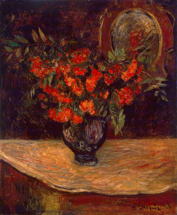 Bouquet 1884 | Gauguin Paul | oil painting