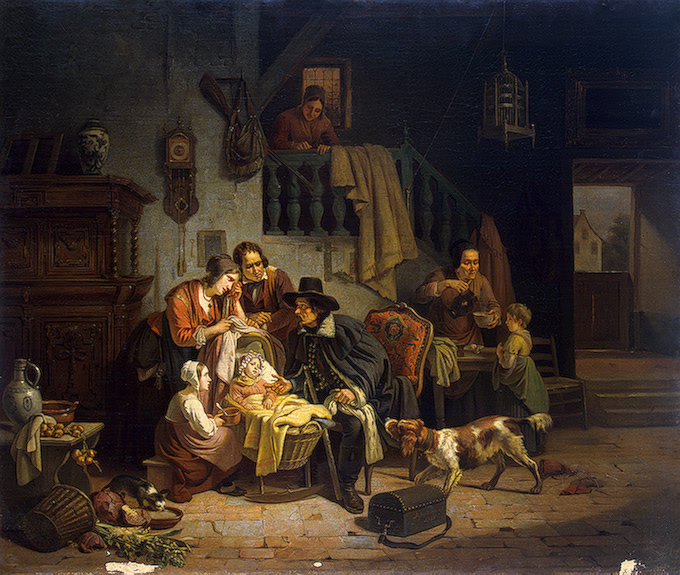 A Hungarian Doctor 1836 | Geirnaert Theodore Joseph Louis | oil painting