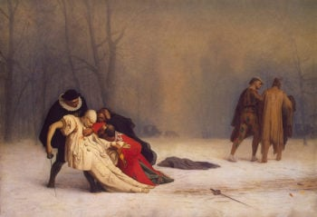 Duel after a Masked Ball 1857   Gerome Jean-Leon   oil painting
