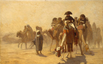 Napoleon in Egypt 1863 | Gerome Jean-Leon | oil painting