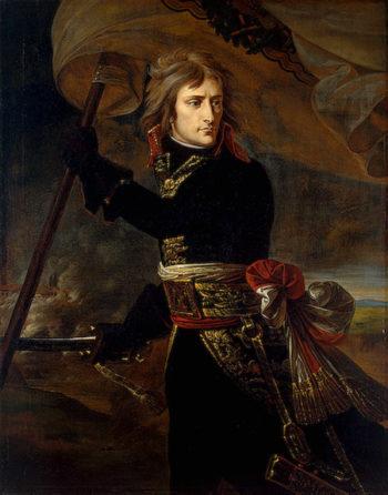 Napoleon Bonaparte on the Bridge at Arcole Late 1796-early 1797 | Gros Antoine-Jean baron | oil painting