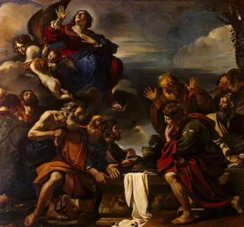 Assumption of the Virgin 1623 | Guercino (Giovanni Francesco Barbieri) | oil painting