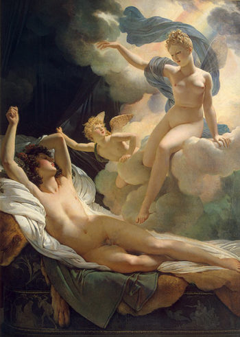 Morpheus and Iris 1811 | Guerin Pierre Narcisse | oil painting