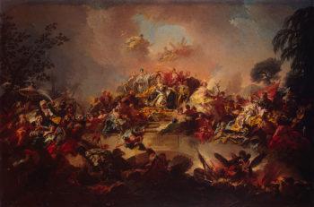 Apotheosis of the Reign of Catherine II 1767 | Guglielmi Gregorio | oil painting