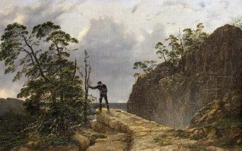 Mountains 1835 | Hagen August Mathias | oil painting