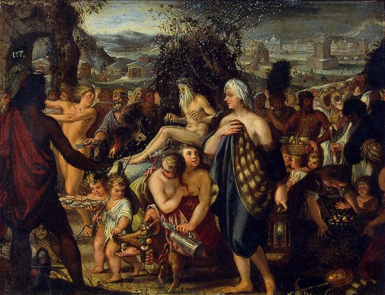 Allegory of Winter 1665 | Heiss Johann | oil painting