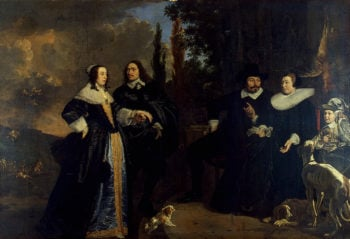 Family Portrait 1647 | Helst Bartholomeus van der | oil painting