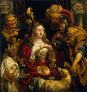 Cleopatras Feast 1653 | Jordaens Jacob | oil painting