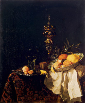 Dessert 1653OR1654 | Kalf Willem | oil painting