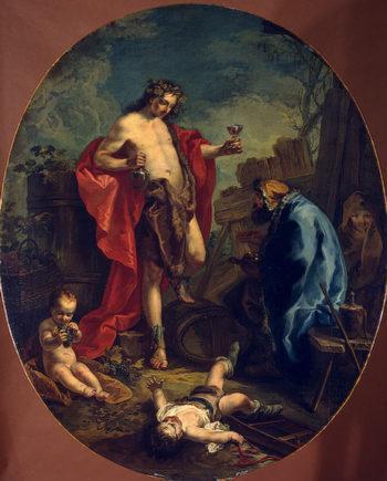 Autumn and Winter 1747 | Kern Anton | oil painting