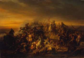 Battle at Seneffe 1850 | Keyser Nicaise de | oil painting