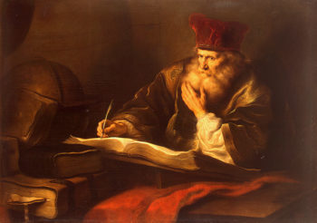 An Old Scholar 1609-1656 | Koninck Salomon | oil painting