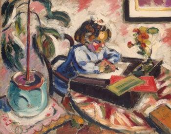 Little Schoolgirl 1907   Le Fauconnier Henri   oil painting
