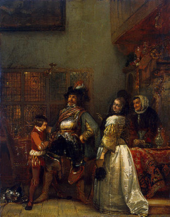 A Scene from Everyday Life 1835 | Leys Henri | oil painting