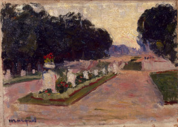 Avenue in the Luxembourg Gardens 1901 | Marquet Albert | oil painting