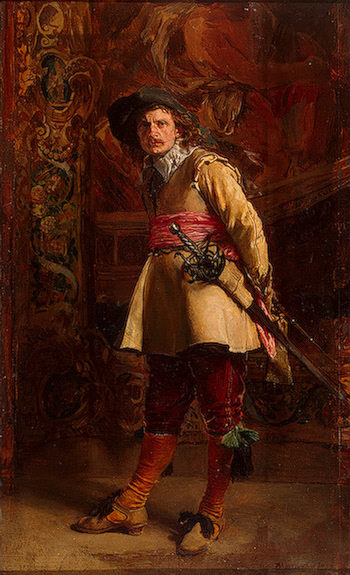 A Musketeer 1870 | Meissonnier Jean-Louis Ernest | oil painting