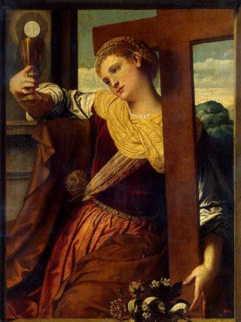 Allegory of Faith 1540 | Moretto da Brescia (Alessandro Bonvicino) | oil painting