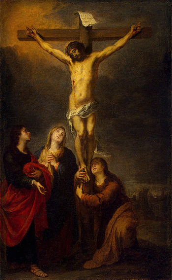 Crucifixion 1675-1682 | Murillo Bartolome Esteban | oil painting