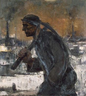Miner 1937 | Paulus Pierre | oil painting