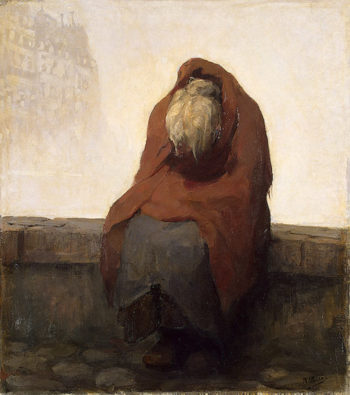 Old Woman 1930-1937 | Peiser Kurt | oil painting