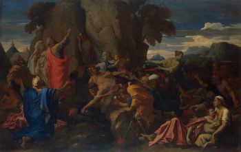 Moses Striking the Rock 1649 | Poussin Nicolas | oil painting
