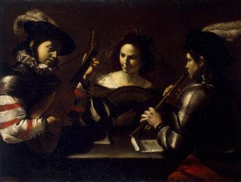 Concert 1630 | Preti Mattia | oil painting
