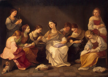Education of the Virgin 1640-1642 | Reni Guido | oil painting