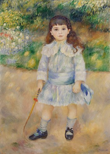 Boy with a Whip 1885 | Renoir Pierre-Auguste | oil painting