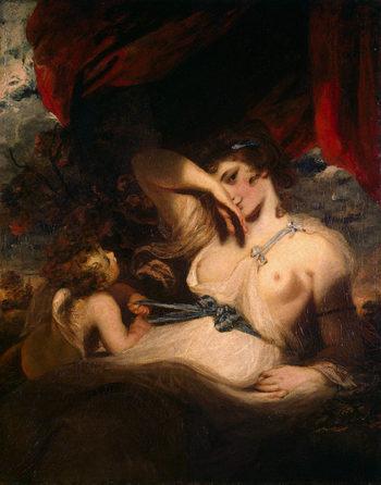 Cupid Untying the Zone of Venus 1788 | Reynolds Joshua | oil painting