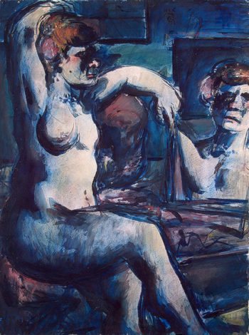 Nude with Raised Arm 1906 | Rouault Georges | oil painting