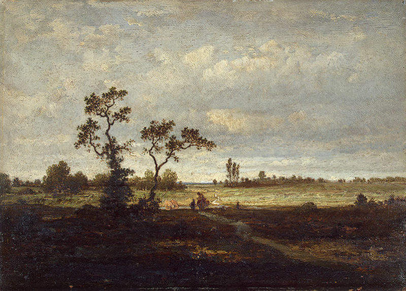 Landscape Second half of the 19th century | Rousseau Theodore | oil painting